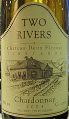 Two Rivers Winery Chardonnay