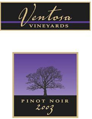 Ventosa Vineyards Pinot Noir