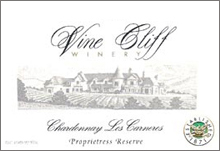 Vine Cliff Winery Chardonnay