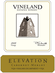 Vineland Estates Winery Elevation Cabernet - Merlot