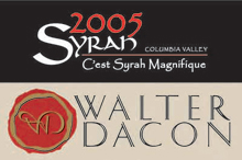 Walter Dacon Wines - Syrah