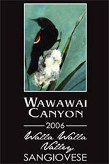 Wawawai Canyon Winery-Sangiovese