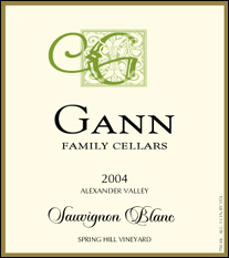 Gann Family Cellars - Alexander Valley Sauvignon Blanc