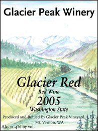 Glacier Peak Winery - Glacier Red