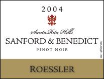 Roessler Cellars - Sanford & Benedict Pinot Noir