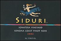 Siduri Wines - Sonoma Coast, Sonatera Pinot Noir