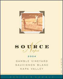 Source-Napa Gamble Vineyard Wines