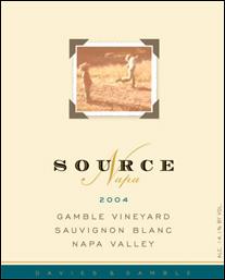 Source-Napa Gamble Vineyard Wines