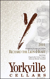 Yorkville Cellars - Richard the Lion Heart