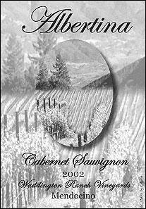 Albertina Wine Cellars - Mendocino