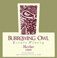 Burrowing Owl Merlot