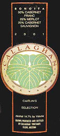Callaghan Vineyards - Sonoita, Arizona