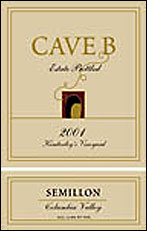 Cave B Estate Semillon
