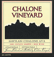 Chalone Vineyard-Gavilan