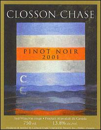 Closson Chase Pinot Noir