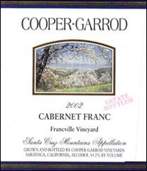 Cooper-Garrod Estate Vineyards - Santa Cruz Mountains