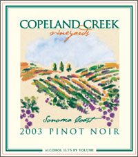 Copeland Creek Vineyards - Sonoma Coast