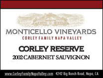 Monticello Vineyards/Corley Family Napa Valley