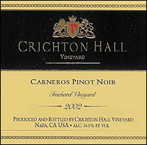 Crichton Hall Vineyard