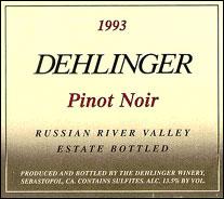 Dehlinger Winery