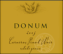 The Donum Estate - Carneros Pinot Noir