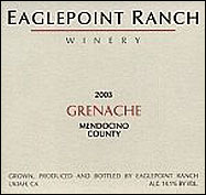 Eaglepoint Ranch Winery - Mendocino