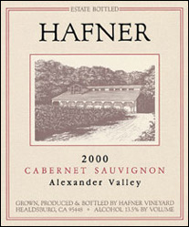 Hafner Vineyard - Alexander Valley