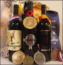 Award-winning wines of Housleys Century Oak Winery