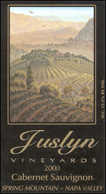 Juslyn Vineyards - Spring Mountain, Napa Valley Cabernet Sauvignon