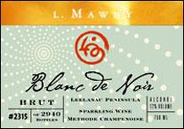 . Mawby Vineyard - Leelanau Peninsula Blanc de Noirs