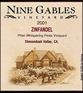 Nine Gables Vineyard