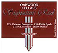 Oakwood Cellars