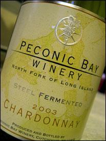 Peconic Bay Winery - Chardonnay