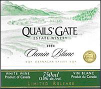 Quails&#39 Gate Chenin Blanc