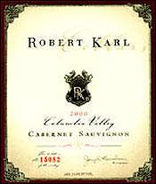 Robert Karl Cellars Cabernet Sauvignon