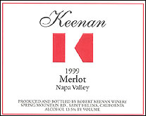 Robert Keenan Winery - Spring Mountain District, Napa Valley
