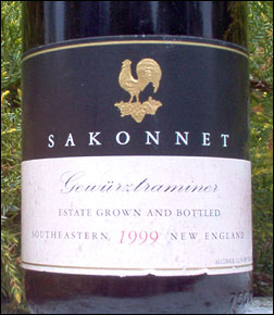 Sakonnet Vineyards - Southeastern New England Gewurztraminer