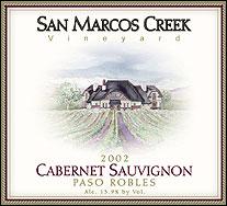 San Marcos Creek Cabernet Sauvignon
