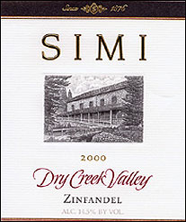 Simi WinerySimi Winery - Dry Creek Valley