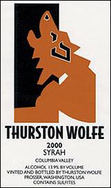 Thurston Wolfe Wines