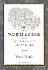 Yoakim Bridge Wine