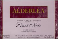 Alderlea Vineyards