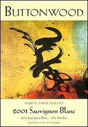 Buttonwood Farm Winery Wine label