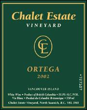 Chalet Estate Vineyard