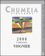 2000 Chumeia Vineyards Viognier