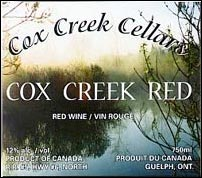 Cox Creek Cellars Estate Winery