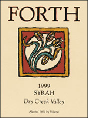 Forth Vineyards - Dry Creek Valley