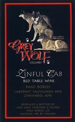 Grey Wolf Zinful Cab