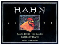 Hahn Estates Cabernet Franc 2001
