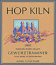 Hop Kiln Winery - Russian River Valley